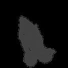 907 - Betende Hände negativ (3,4x4,7cm)