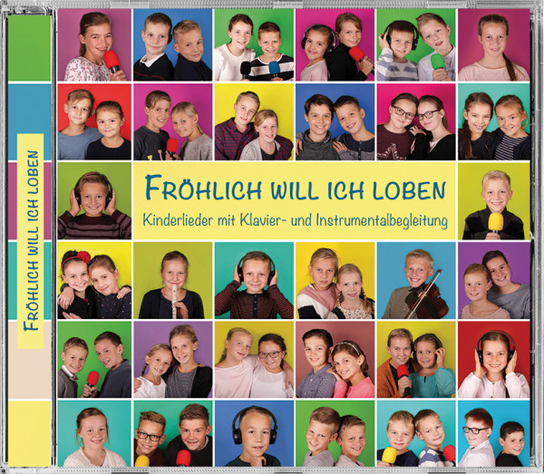 Kinderlieder CD - Fröhlich will ich loben