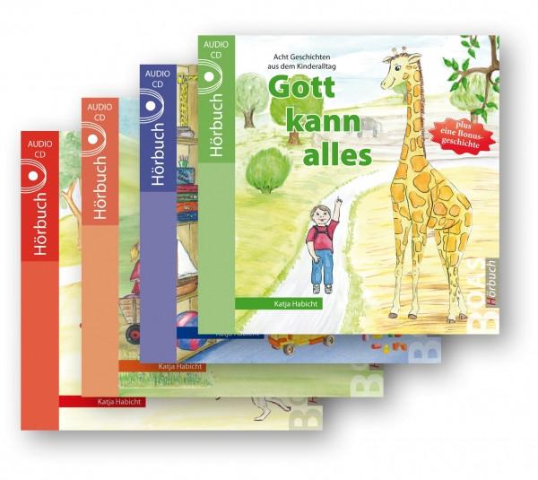 Hörbuchreihe - Gott kann alles im Set (4 CDs)