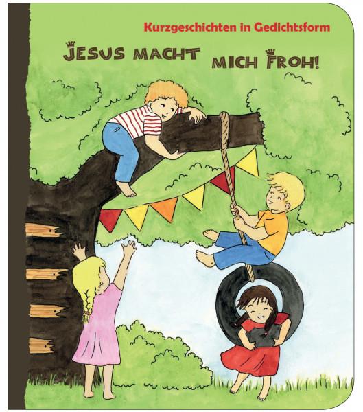 Pappbuch - Jesus macht mich froh!