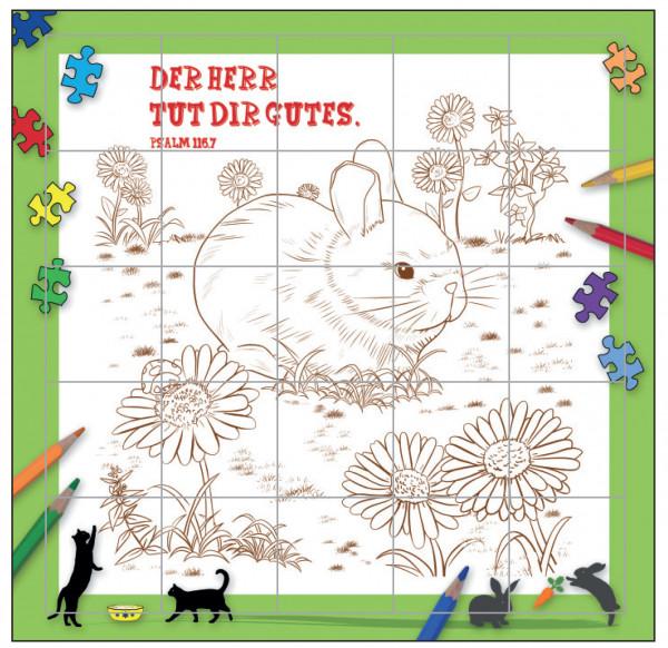 Rahmenpuzzle - Tiere