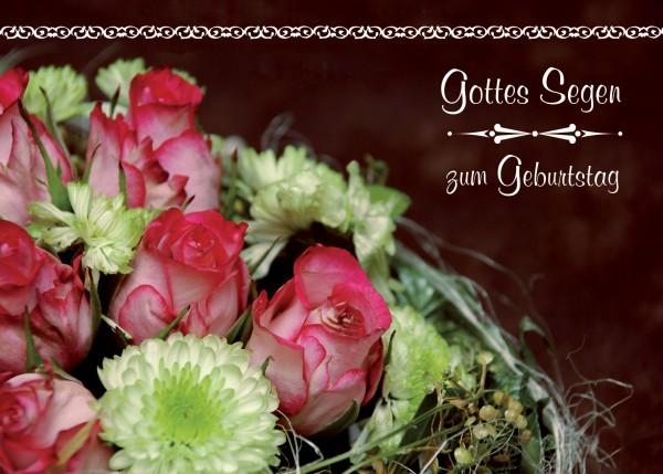 """Postkarte """"Zum Geburtstag"""""""