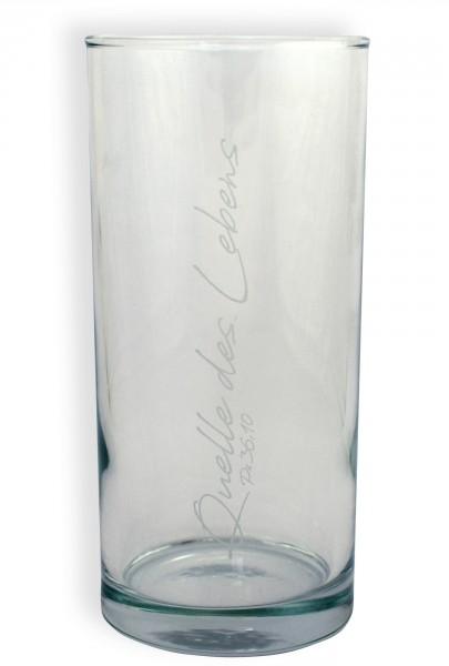 "Trinkglas ""Quelle"""