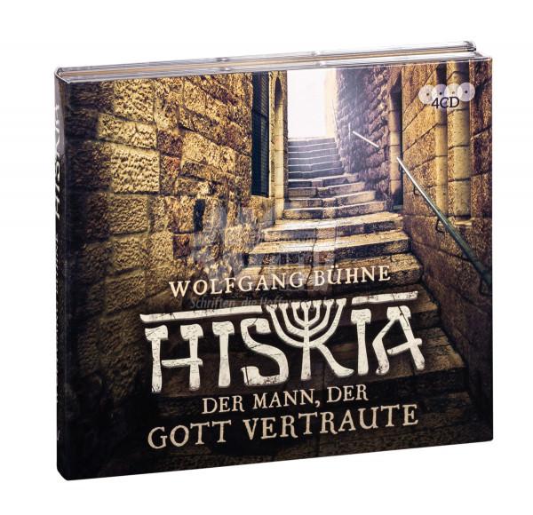 Hörbuch 4 CDs - Hiskia, der Mann, der Gott vertraute