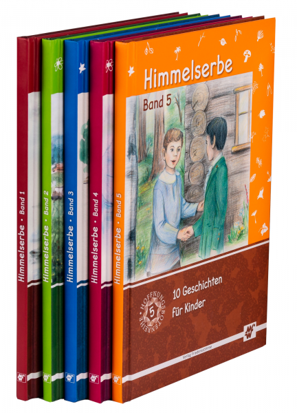 Himmelserbe Set Band 1-5