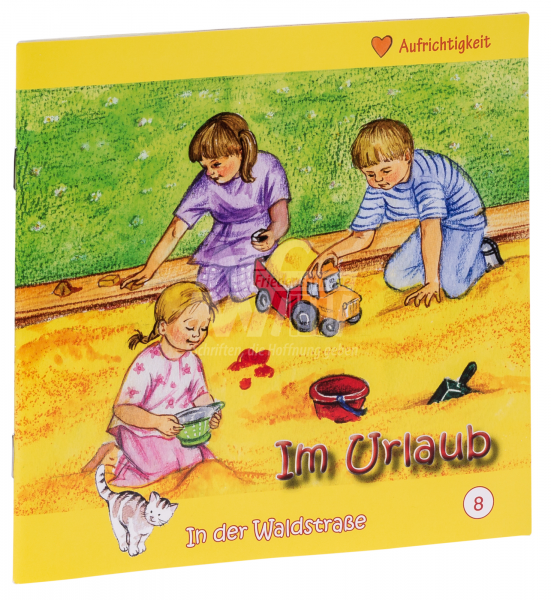 In der Waldstraße - Im Urlaub (Heft 8)