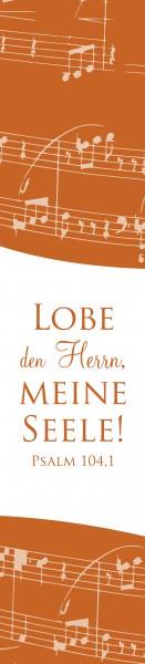 "PVC Lineal + Lesezeichen ""Lobpsalme"""