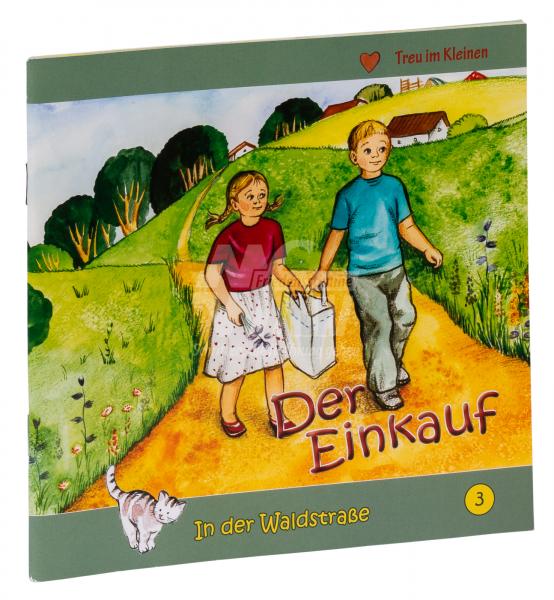 In der Waldstraße - Der Einkauf (Heft 3)