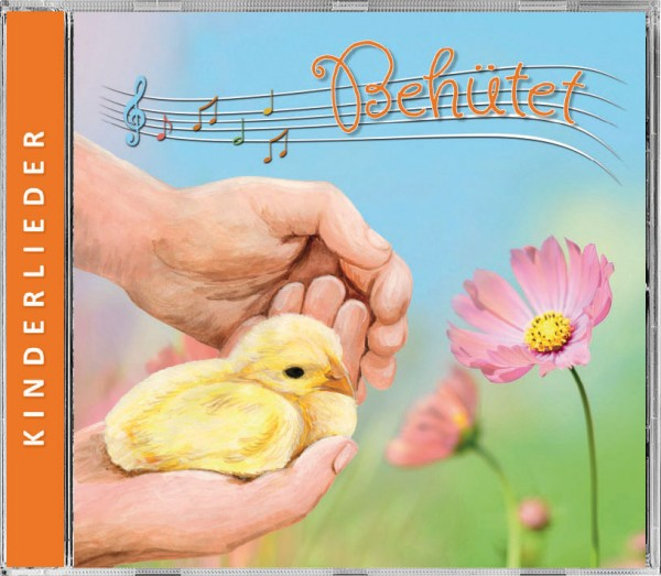 "Kinderlieder CD ""Behütet"""