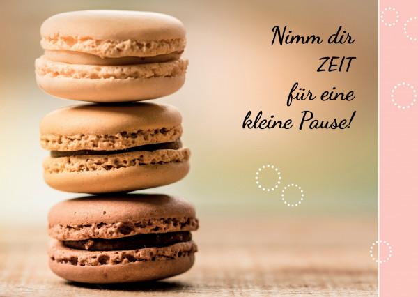 Minikalender 2020 - Macarons