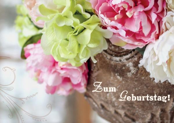"""Postkarte """"Zum Geburtstag!"""""""