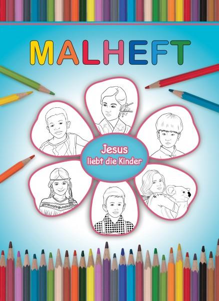 Malheft: Jesus liebt die Kinder