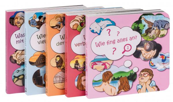 Set - Pappbücher 1-5