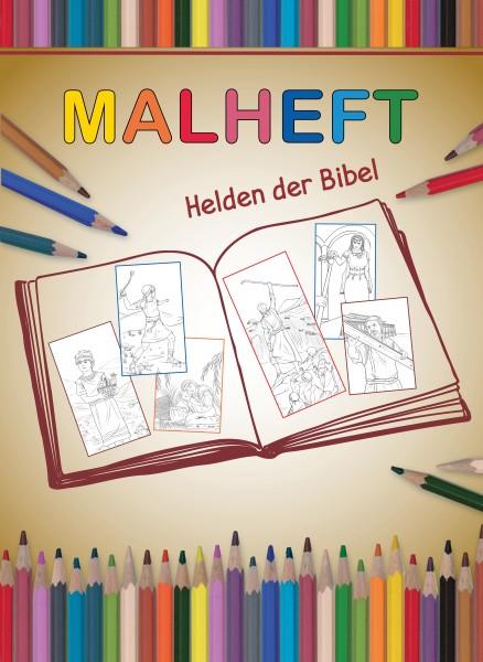 Malheft: Helden der Bibel