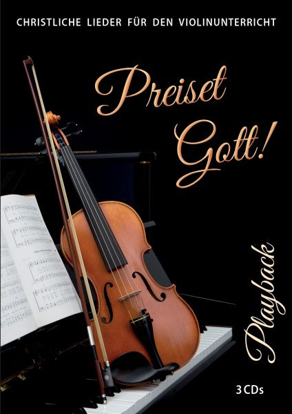 Preiset Gott! Playback 3 CDs