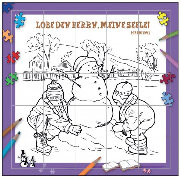 Rahmenpuzzle - Kinder