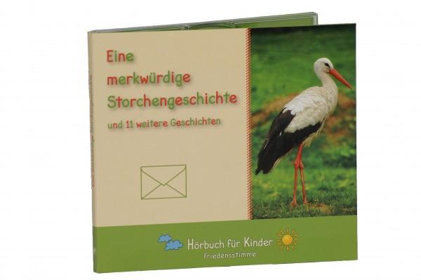 Hörbuch CD - Eine merkwürdige Storchengeschichte