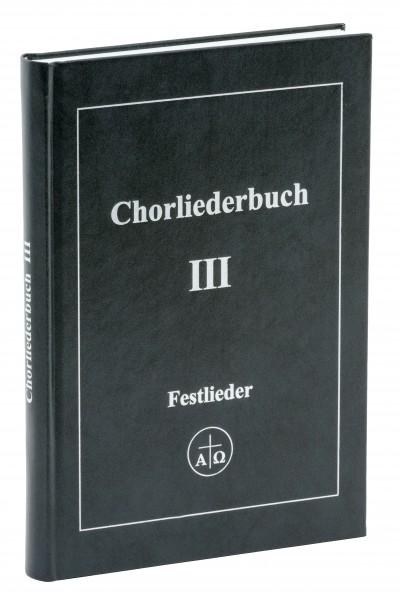 Chorliederbuch III
