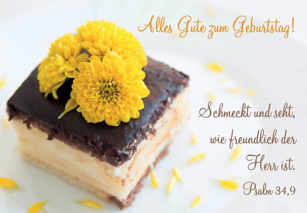 Motivkärtchen: Alles Gute zum Geburtstag!