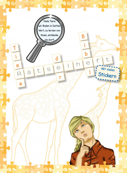 Rätselheft - Tiere der Bibel