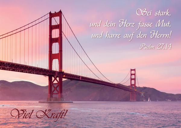 Postkarte - Brücke