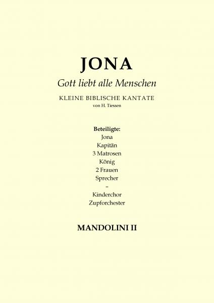 Jona - Gott liebt alle Menschen (Mandoline 2)