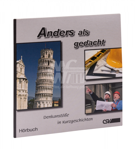 Hörbuch CD - Anders als gedacht