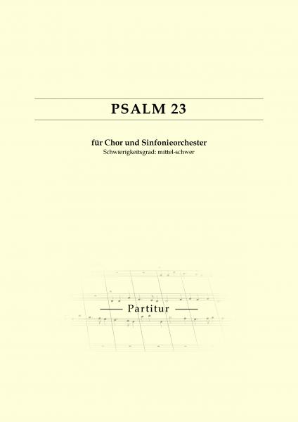 Psalm 23 (mit Chor SAB)