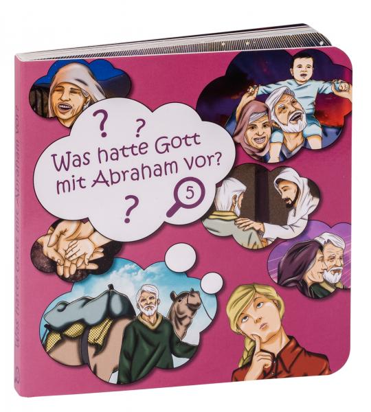 Pappbuch - Was hatte Gott mit Abraham vor?