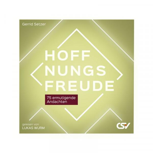 Hörbuch CD MP3 - Hoffnungsfreude