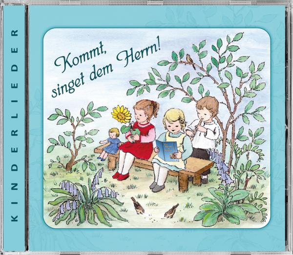 Kinderlieder CD - Kommt, singet dem Herrn!