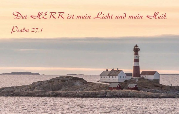 "Minikalender 2019 ""Leuchtturm"""
