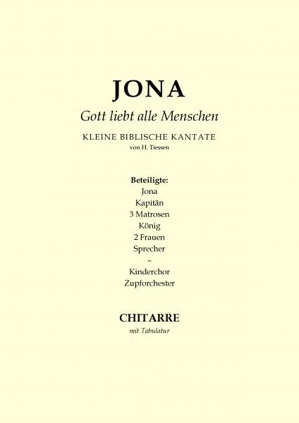 Jona - Gott liebt alle Menschen (Gitarre mit Tabulatur)