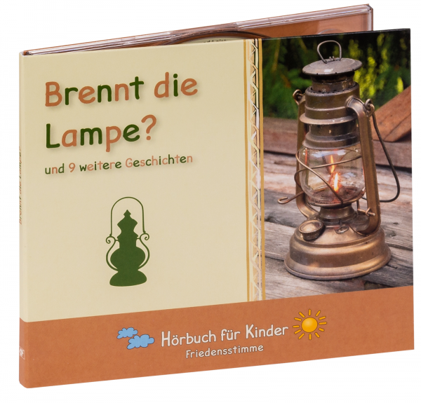 Hörbuch CD - Brennt die Lampe?