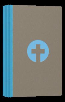 Schlachter 2000 - Taschenformat / hellblau/grau / Hardcover / Fadenheftung / mit Parallelstellen