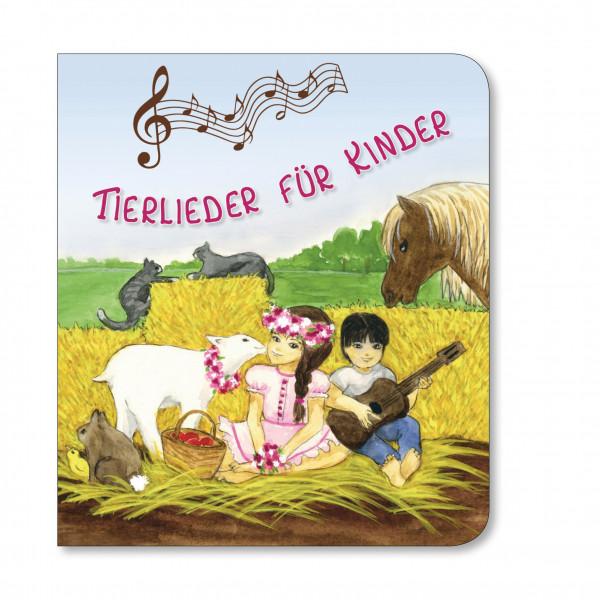 Pappbuch - Tierlieder für Kinder