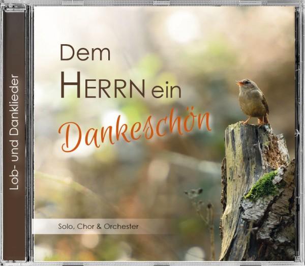 """Lieder CD """"Dem Herrn ein Dankeschön"""""""