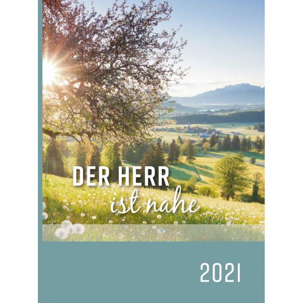 Buchkalender 2021 - Der Herr ist nahe