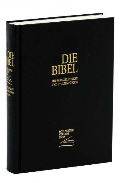 Schlachter 2000 Standardformat - Hardcover, schwarz