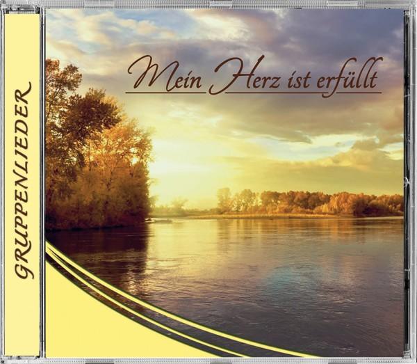 """Lieder CD """"Mein Herz ist erfüllt"""""""