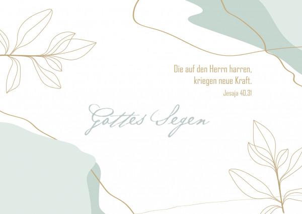 Postkarte - Gottes Segen