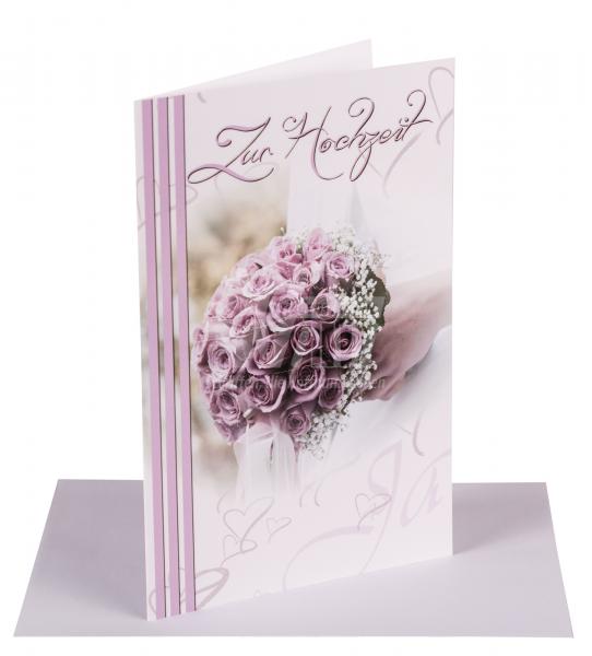 Faltkarte zur Hochzeit