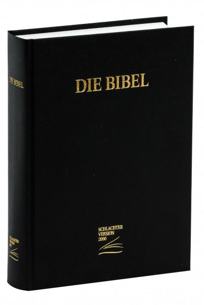 Schlachter 2000 Großdruckausgabe - Hardcover