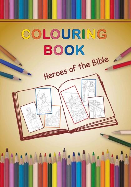 Malheft: Helden der Bibel (eng.)