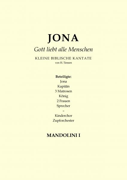 Jona - Gott liebt alle Menschen (Mandoline 1)