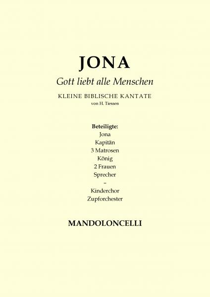 Jona - Gott liebt alle Menschen (Mandoloncello)