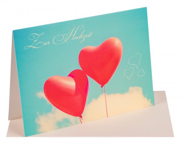 """Faltkarte """" Zur Hochzeit"""""""