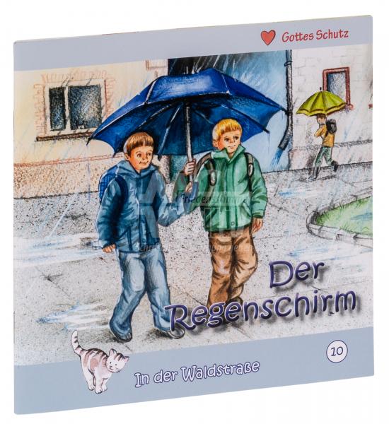 In der Waldstraße - Der Regenschirm (Heft 10)