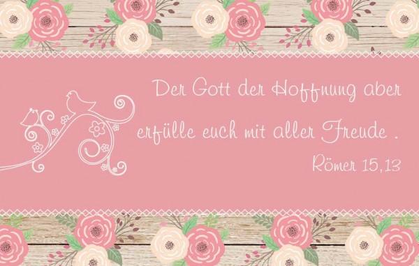 "Minikalender 2019 ""Gemalte Rosen"""