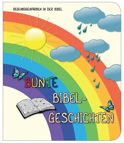Pappbuch - Bunte Bibelgeschichten